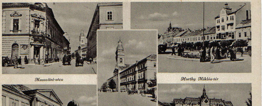 Postcard with new street names